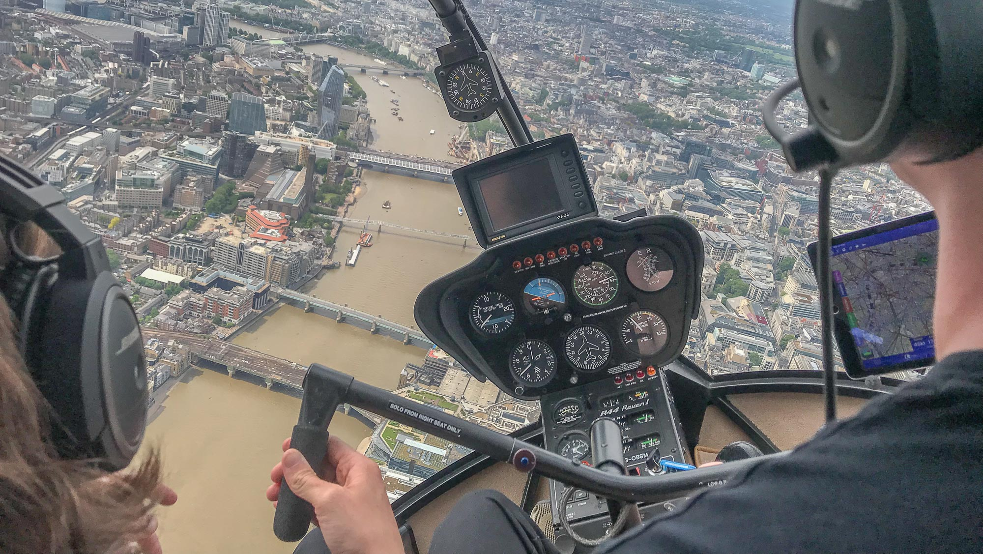 Flying the London Heli Lanes