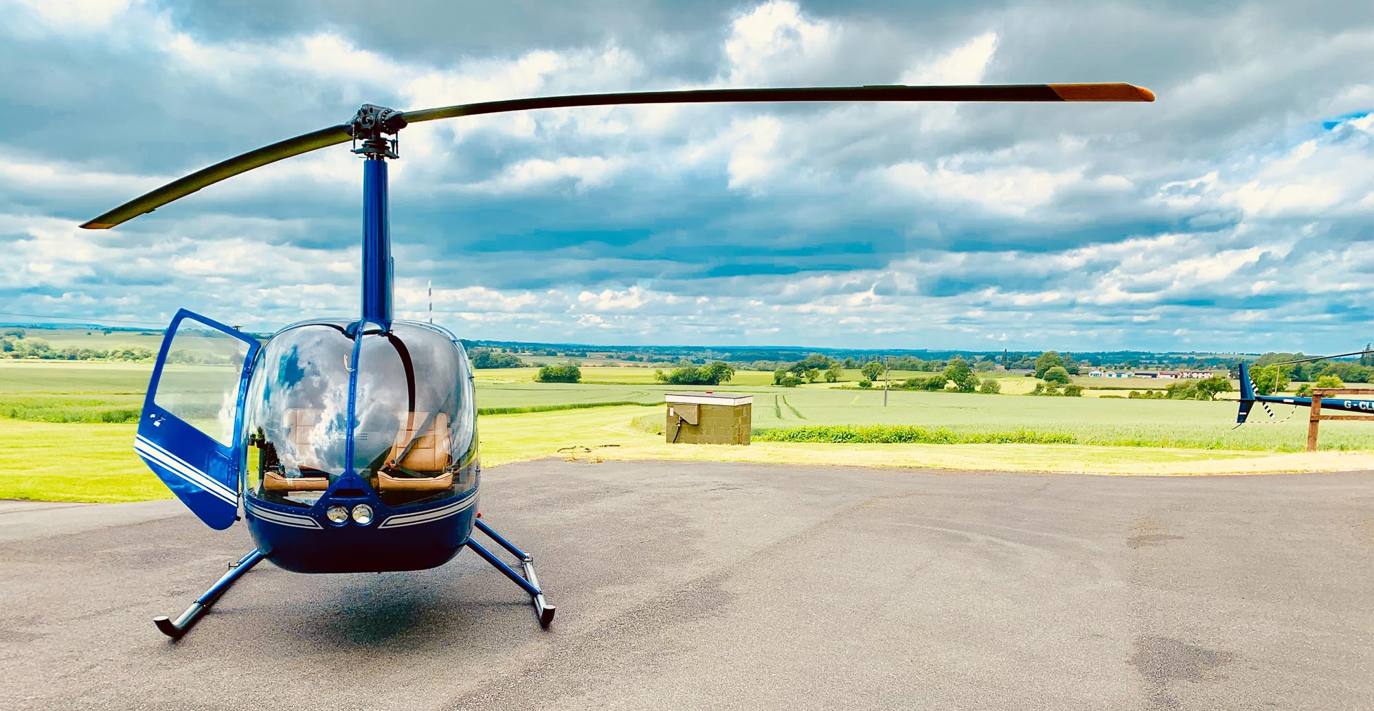 Why We Fly The Robinson R44 Helicopter