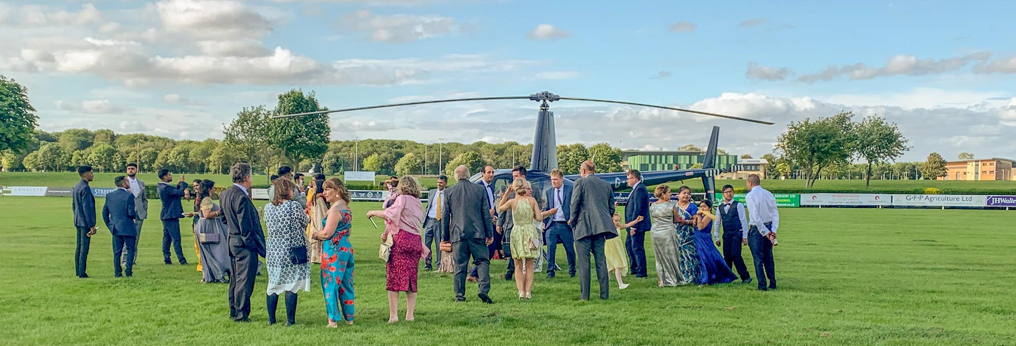 Our Favourite Helicopter Wedding Venues